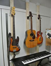 壁掛けギター