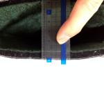 インナーブーツの厚さは約1cm